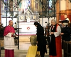 Water was brought from the four corners of the church and poured into one vessel as a symbol of unity during the inaugural service for the Week of Prayer for Christian Unity 2015 which took place in St Bartholomew's Church, Clyde Road, Dublin 4.