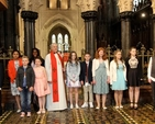 Candidates from St Catherine's and St James' with St Audoen's, Drumcondra and North Strand, Tallaght and Dundalk parishes were confirmed by Archbishop Michael Jackson in Christ Church Cathedral on Pentecost Sunday.