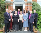 Representatives from the four Anglican churches in Ireland, England, Scotland and Wales outside the Church of Ireland Theological Institute which hosted the Four Nations Faith and Order Consultation.