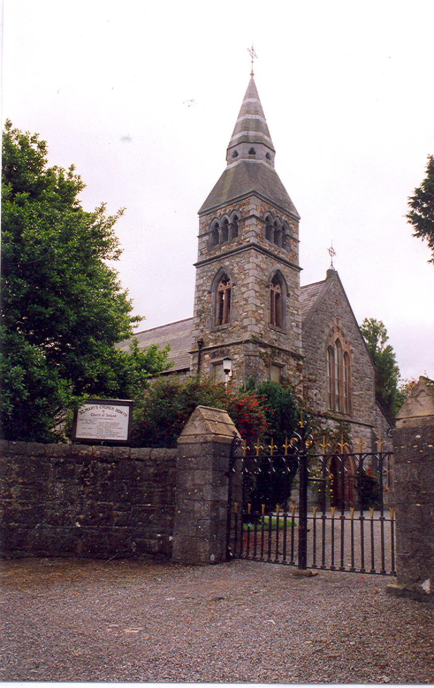 St Mary's Church in the parish of Howth
