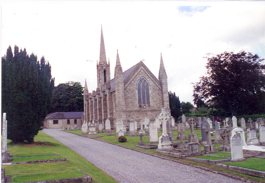 Kilternan Parish Church in the parish of Kilternan