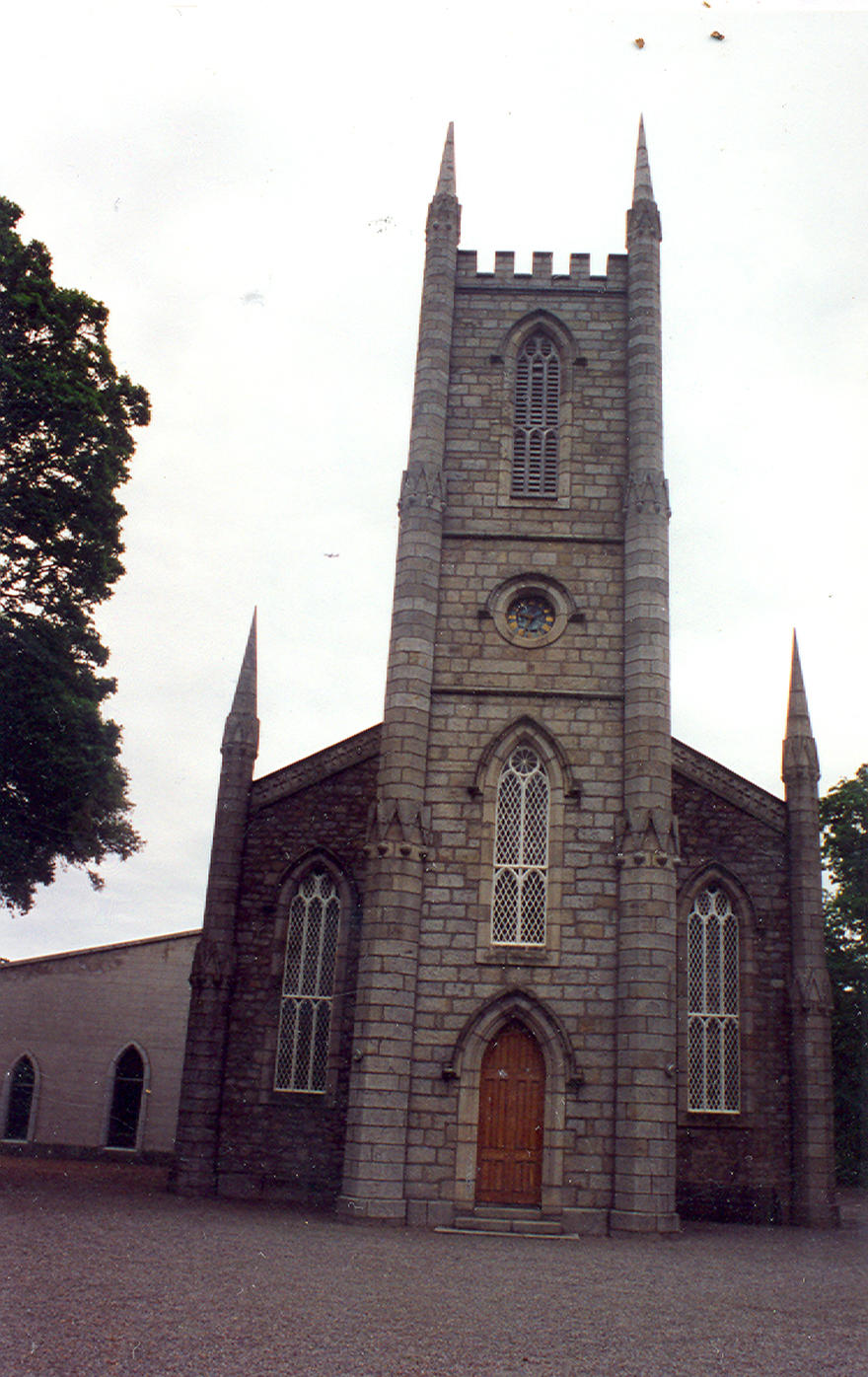 Crinken Church, Shankill in the parish of Crinken