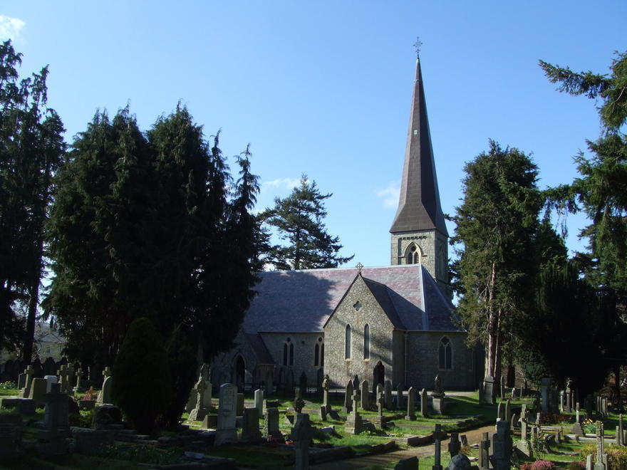 St Patrick's Church, Enniskerry in the parish of Powerscourt with Kilbride