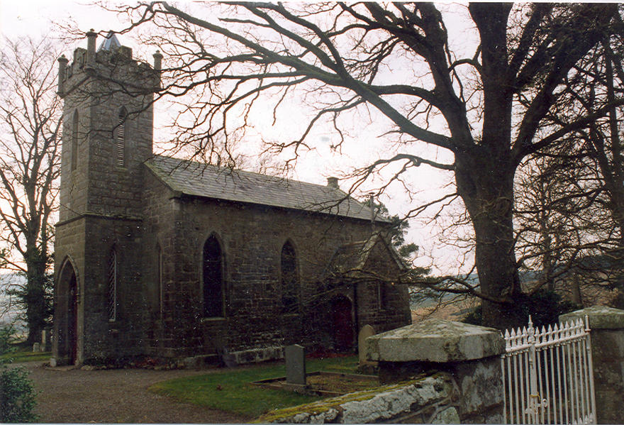Saint John's Church, Manor Kilbride in the parish of Blessington and Manor Kilbride with Ballymore Eustace and Hollywood