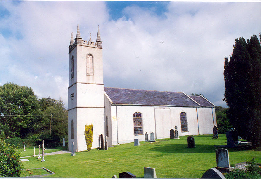 Donoughmore Parish Church in the parish of Donoughmore, Donard with Dunlavin