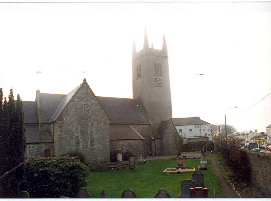 Saint Mary's Church, Blessington in the parish of Blessington and Manor Kilbride with Ballymore Eustace and Hollywood