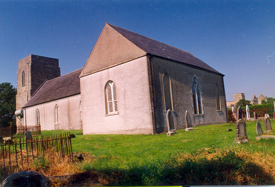 Dunganstown Parish Church in the parish of Dunganstown, Redcross and Conary