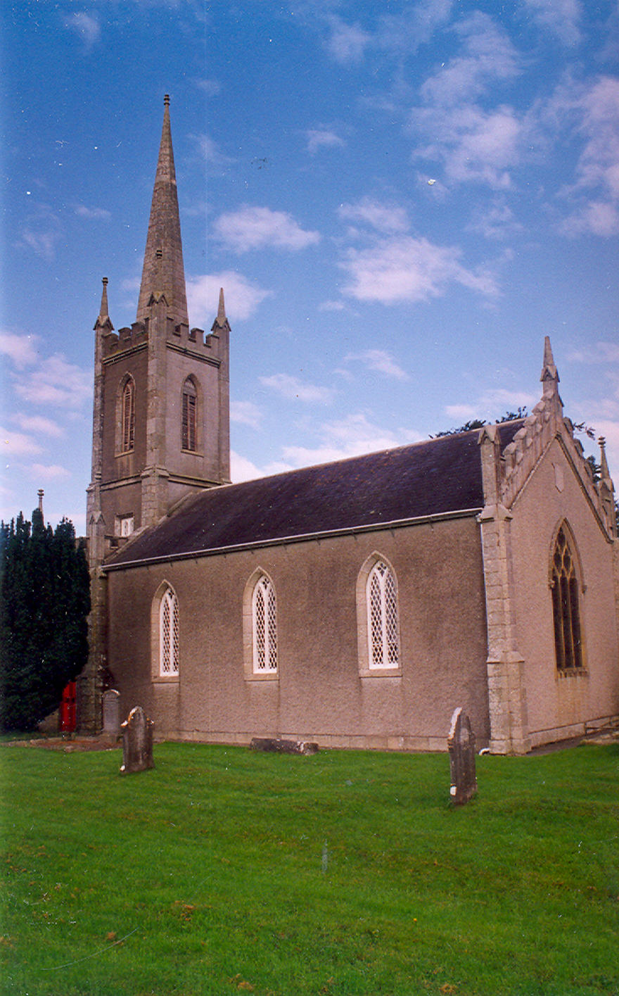 Fontstown Parish Church in the parish of Athy, Kilberry and Fontstown with Kilkea