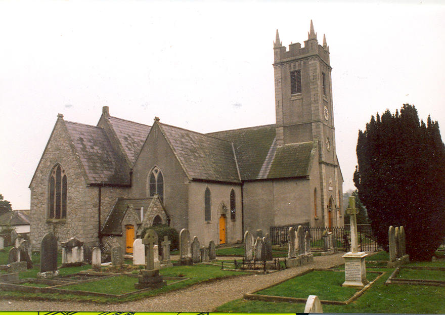 Christ Church, Delgany in the parish of Delgany