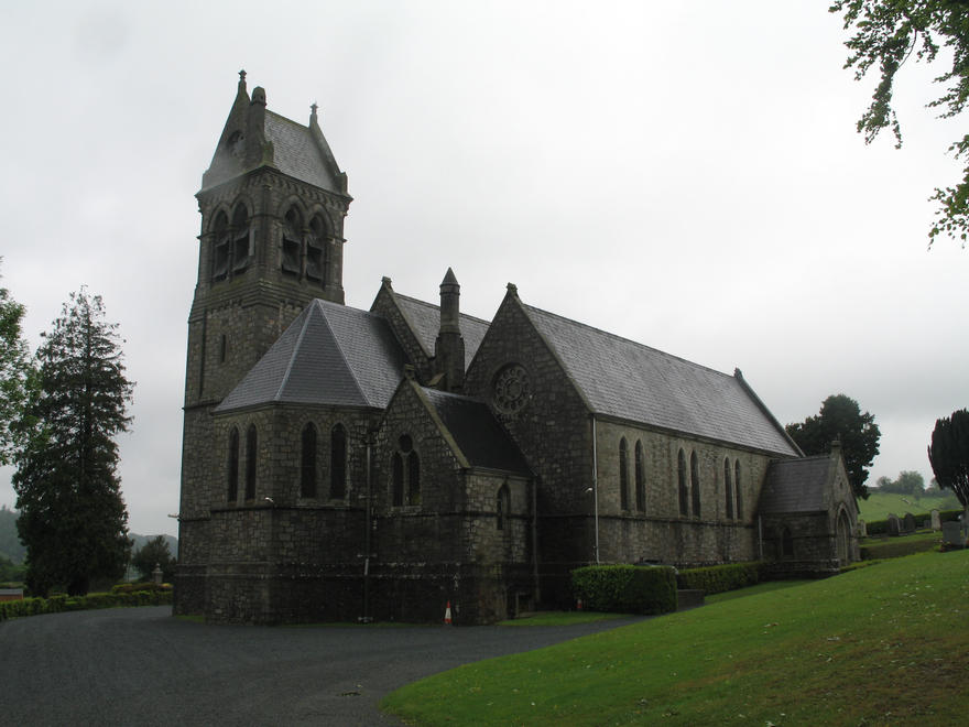 Holy Trinity Church, Castlemacadam in the parish of Castlemacadam, Ballinatone and Aughrim
