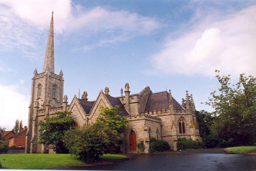 St Philip and St James' Church in the parish of Booterstown and Mount Merrion
