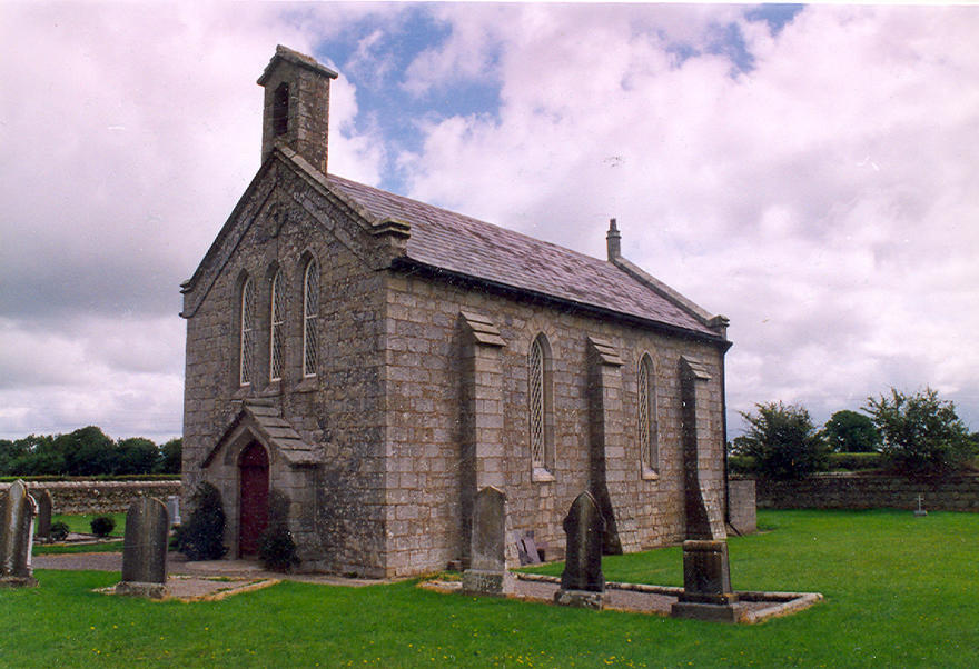 Kinneagh Parish Church, Ballyhackett, Tullow in the parish of Narraghmore and Timolin with Castledermot and Kinneagh