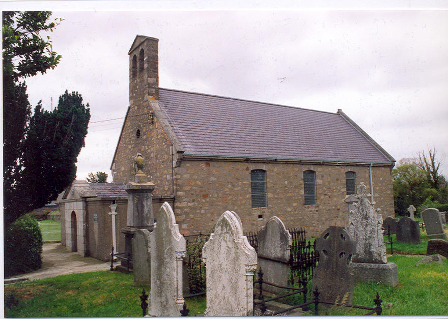 St Nahi's Church, Dundrum in the parish of Taney (Dundrum)