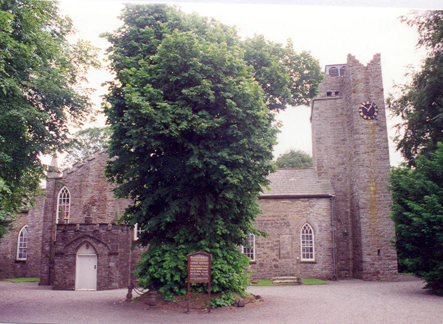 St Mary's Church, Leixlip in the parish of Lucan and Leixlip