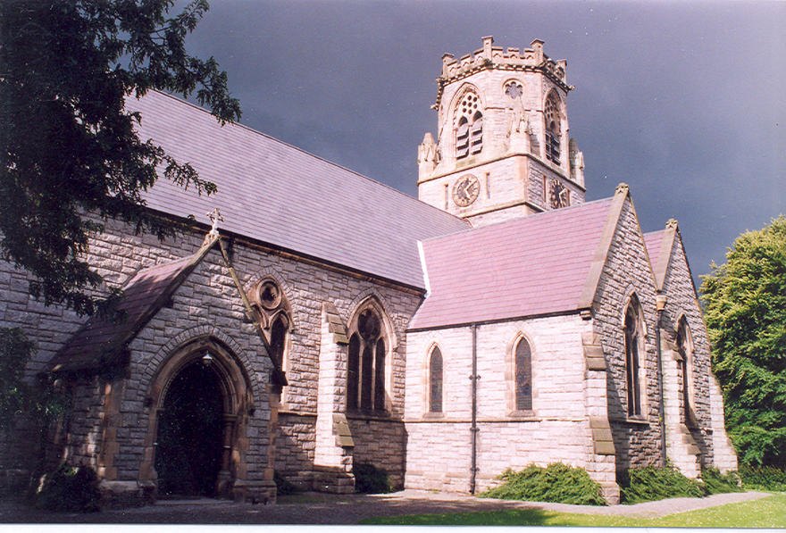 St Bartholomew's Church, Clyde Road in the parish of St Bartholomew's with Christ Church Leeson Park