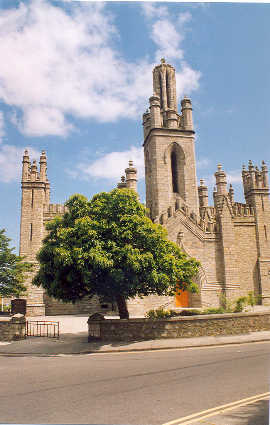 Monkstown Parish Church in the parish of Monkstown