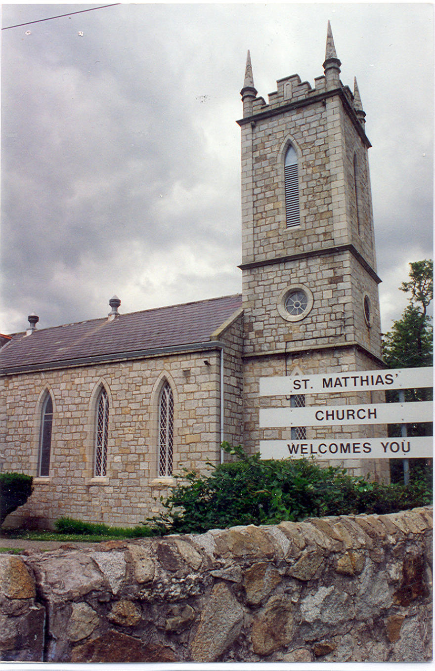 St Matthias Church in the parish of Killiney–Ballybrack