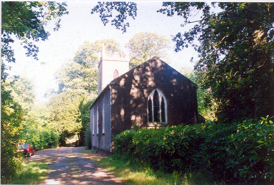 St John's Church, Laragh in the parish of Rathdrum and Derralossary with Glenealy