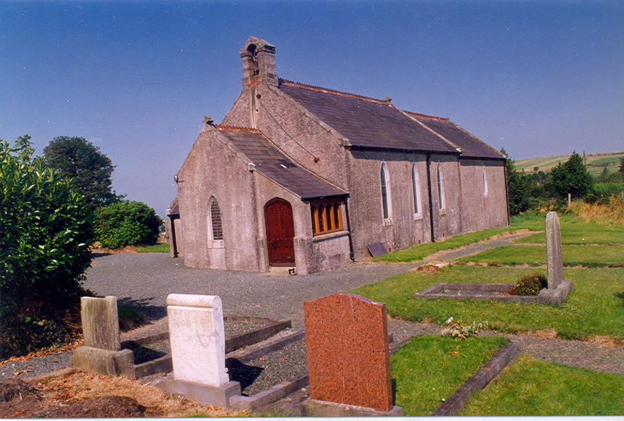 Conary Parish Church in the parish of Dunganstown, Redcross and Conary