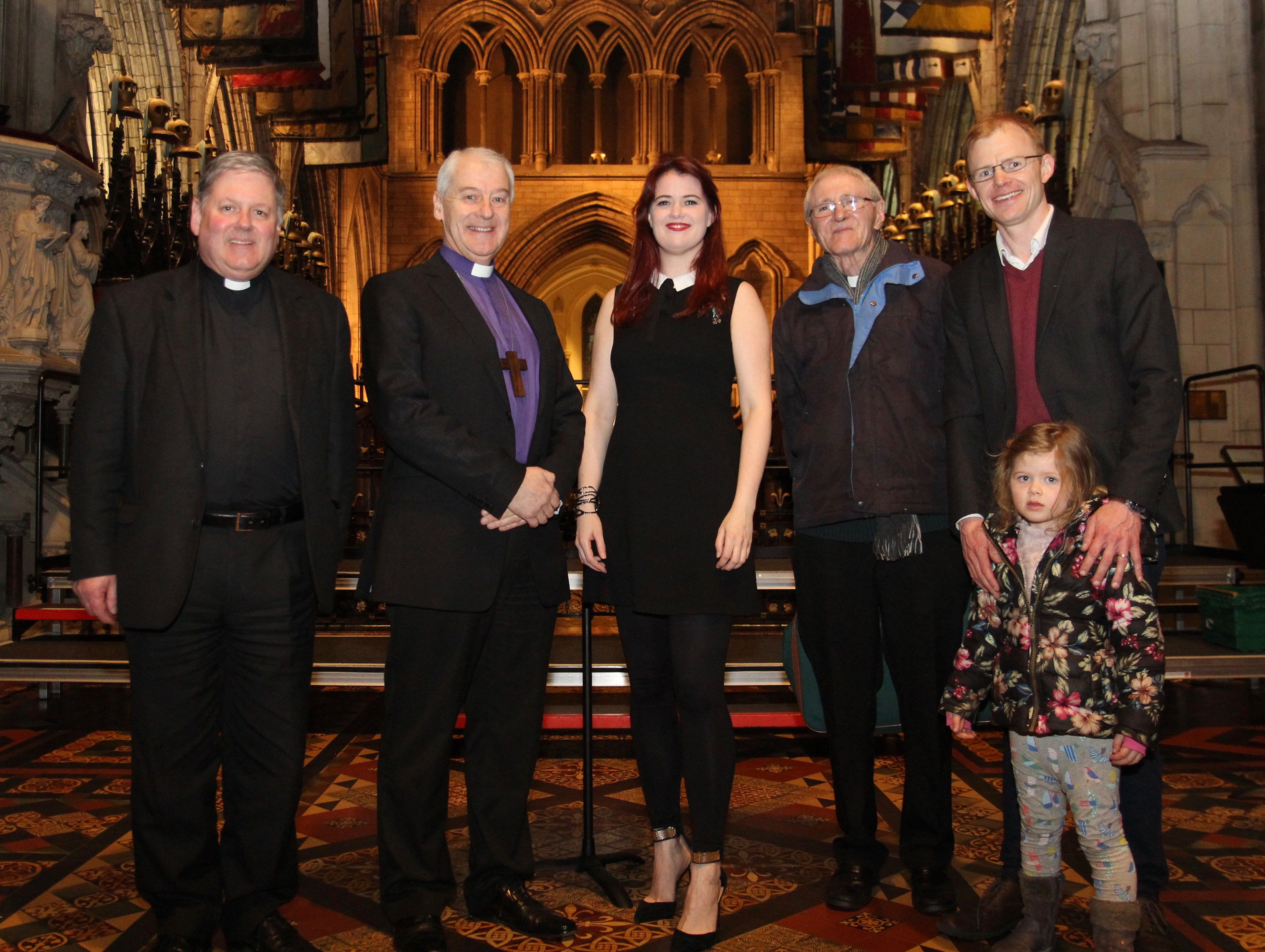 st patrick s choristers raise the roof for diocesan housing appeal