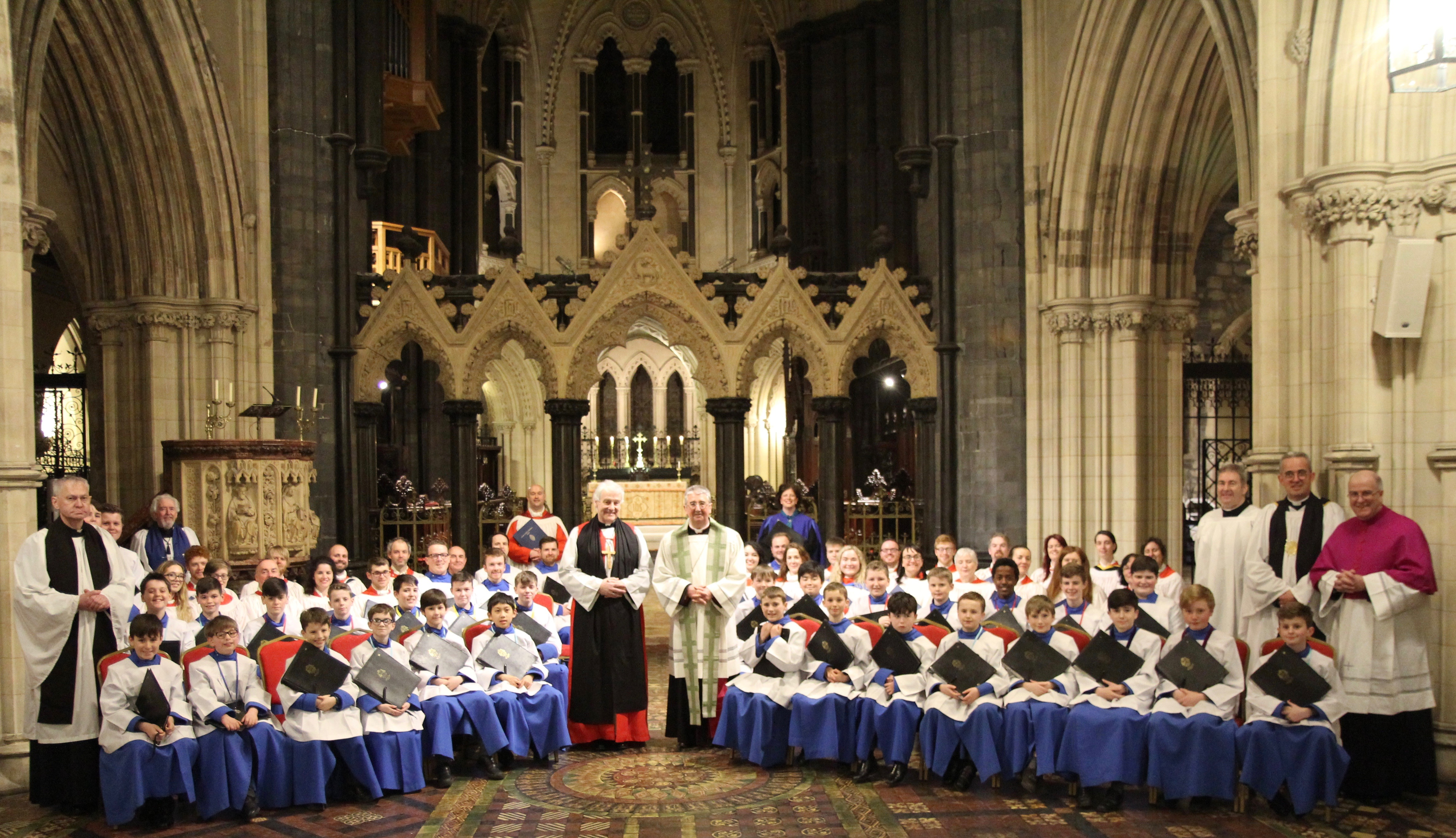 St Patrick's Eve Evensong in Christ Church Cathedral